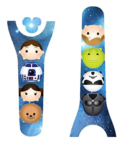 Disney MagicBand Decal Sticker Skins Space Wars FriendsThemed Magic Band 2.0