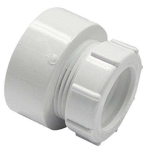 Canplas a pvc dwv trap adapter  inch