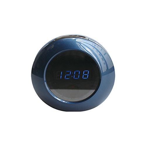 【防犯CAMCAM(防犯カムカム)オリジナル】 オリジナルシリーズ 置時計型カメラ 小型防犯カメラ mc-od030 B01DORYI30
