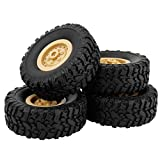 Remote Control Car,4pcs Track Wheels Spare Parts for 1/16 WPL B14 C24 FY001 Military Truck RC Car