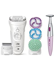 Braun Silk-épil 9 9-961V Epilator for Women and Bikini...