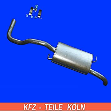 Flexrohr Reparaturrohr Abgaskr/ümmer Auspuffanlage KSKROPV76 Set
