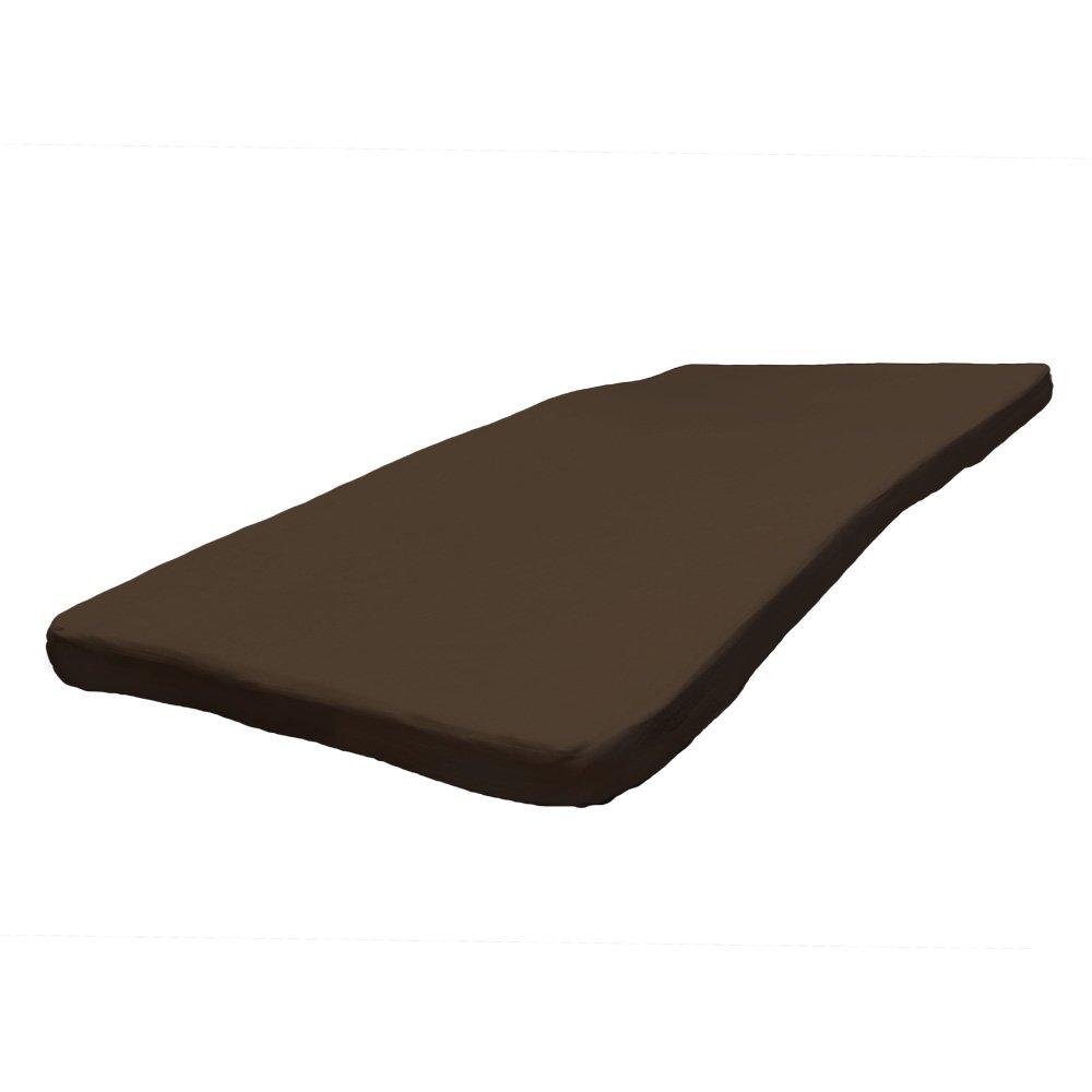 低反発マットレス ダブル 密度40D 極厚8cm 洗える カバー 【ブラウン】 B075FH3SN3