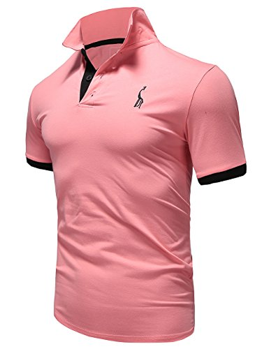 Glestore(グラストア) ポロシャツ メンズ 半袖 作業着 夏 無地 ゴルフウェア#MT1030