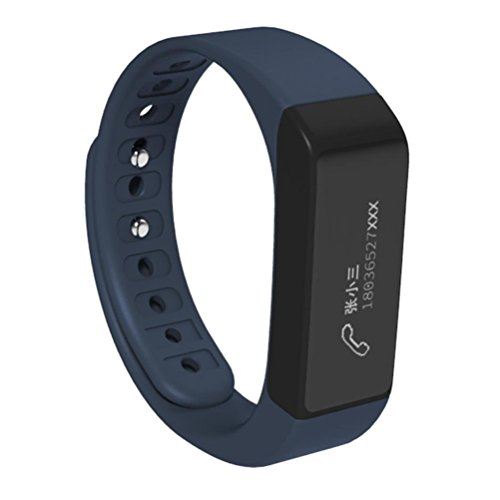 4 Mini Watch (BESSKY I5 Plus Tracking Smart Watch, Bluetooth 4.0, Remote Camera Call Message Reminding (Blue))