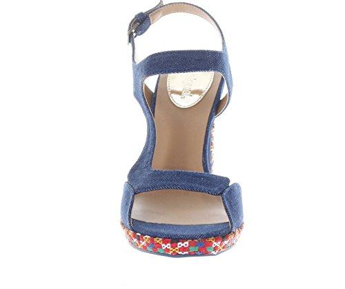 Desigual 18SSHF13 High Heeled Sandals Women Denim SGnKAu7F0