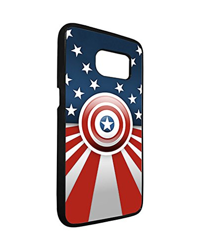 Marvel Samsung Galaxy S7 Edge Case Spiderman SuperHero, Galaxy S7 Edge Case Marvel Comic Logo TPU Silicone Protective Case Cover for Men