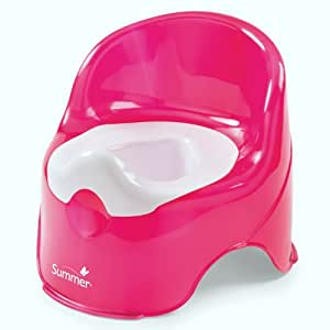 Summer Infant Lil' Loo Potty, Raspberry and White