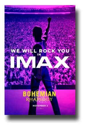 Amazoncom Bohemian Rhapsody Poster Movie Promo 11 X 17 Inches We