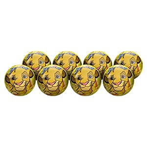 Hedstrom Lion King Playball Party Pack, Size Medium, 8 Balls