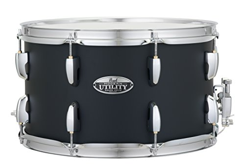 Pearl Snare Drum, Satin Black (MUS1480M227) (Sst Satin)