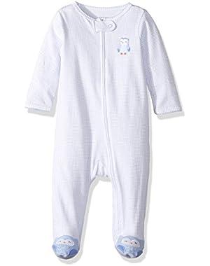 Baby Girls' Footie 115g066, Owl