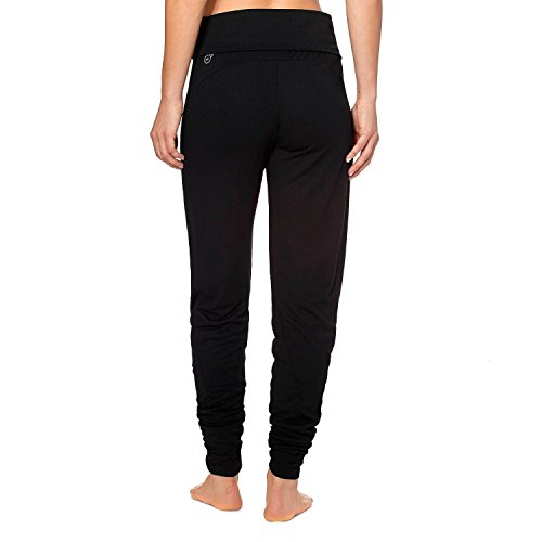 Puma Womens Studio Yogini Trend Pants, Black, Large (Puma Womens Pants Casual)