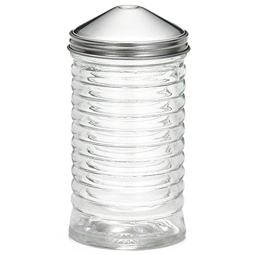 Ruche en verre Sucre Bec verseur avec dessus Centre verser 340,2/gram Distributeur de sucre sucre support