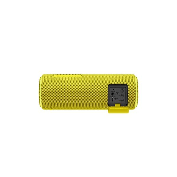 Sony SRS-XB21 Enceinte portable sans fil Bluetooth Waterproof avec effet lumineux - Jaune 3
