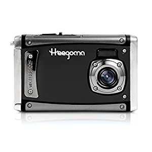 "Heegomn Digital Camera Ultra HD 24M Resolution Waterproof Camera 2.4"" LCD Video Camera with Wide Angle Len, Black"