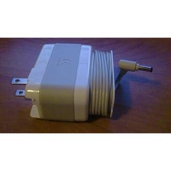 Original Logitech Ac Power Adapter for Logitech Pure-fi Anywhere (2) White (Brand New)