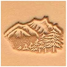 Springfield Leather Company Mountains and Trees 3D Leather Stamp