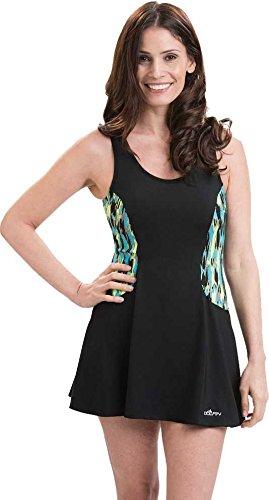 Dolfin Women's Aquashape Colorblock Swim Dress - Multi, -