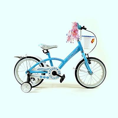 '16ros Blu Vélo pour enfant 16pouces de vélo pour enfant enfant Roue Bike Jeu de vélo