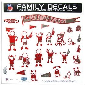 Buccaneers Family Decal - 8