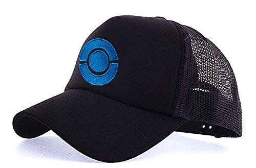 myglory77mall Sombrero de Animado para Hombre Todo T2 Negro