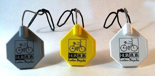 HubBubヘルメットミラー(ホワイト)   B00EROBG7G