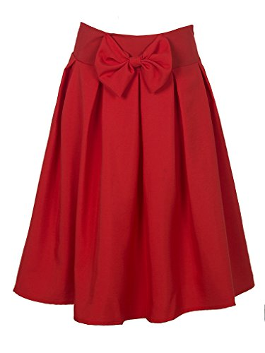 Choies Womens Casual Pleat Bowknot