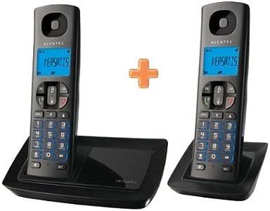 Alcatel Versatis E150 Duo - Teléfono Fijo: Amazon.es: Electrónica