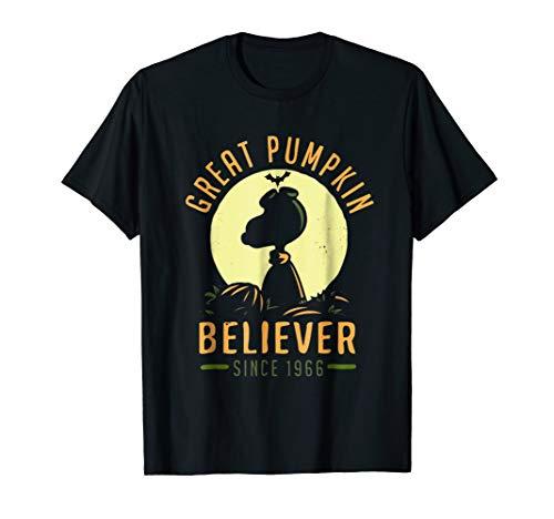 Peanuts-Great Pumpkin believer since 1966 Shirt   Halloween ()