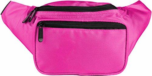 SoJourner Pink Fanny Pack - Festival Packs for men, women | Cute Waist Bag Fashion Belt Bags