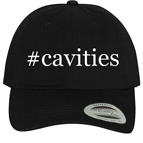 BH Cool Designs #Cavities - Comfortable Dad Hat Baseball Cap, Black