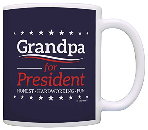 Grandpa Birthday President Fathers Coffee