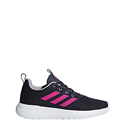 sports shoes 3948a 9b37c adidas Kids Lite Racer Clean Sneakers, Trace BlueShock PinkLight Granite