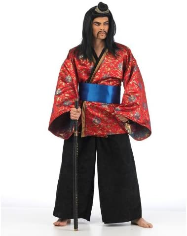 Disfraz de samurai para hombre con diseño de límite Fasching ...