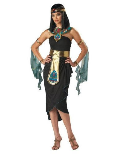 Black Gold Cleopatra Costumes (InCharacter Costumes Women's Cleopatra Costume, Black/Gold, Small)