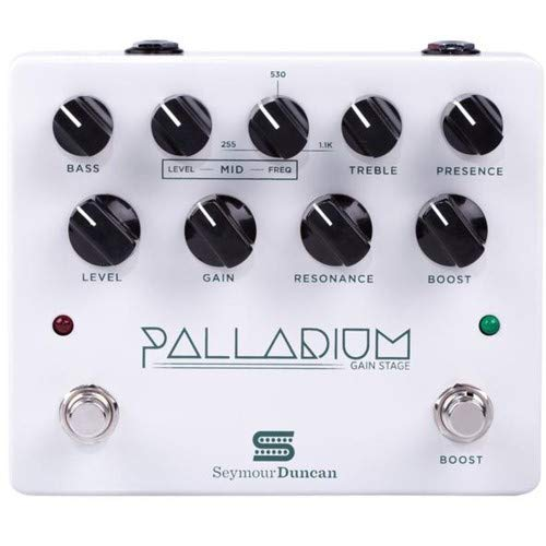 Seymour Duncan Palladium Gain Stage Distortion Pedal - White ()