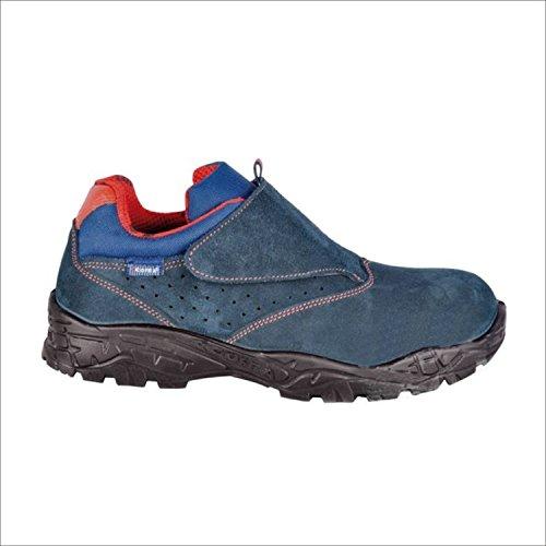 """Cofra 22060-000.W45 S1 taglia 45 P SRC """"altimetro"""" Safety-Scarpe da ginnastica colore blu/arancione"""