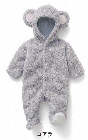 845dd298cca5d ウィンターバーゲン 激安 ベビー用 赤ちゃん 着ぐるみ ベルベットフリース カバーオール ジャンプスーツ ロンパース コアラ・撮影