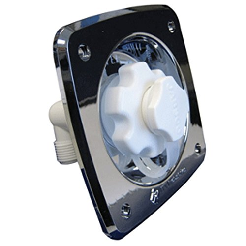 Jabsco Flush Mount Water Pressure Regulator 45psi - Chrome Marine , Boating Equipment