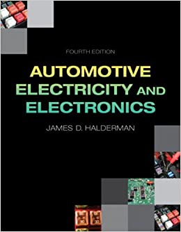 Book Automotive Electricity and Electronics (Automotive Systems Books)