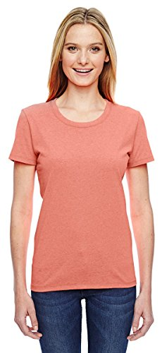 Fruit of the Loom Ladies 100% Heavy Cotton HD T-Shirt,