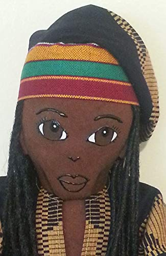 Boy Doll African King Collectible Doll African American Doll Black Doll Maker African Inspired Multicultural Doll Male Doll Black Doll Handcrafted Ethnic Doll 19 inch Doll Hand Painted