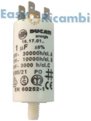 Condensador 1 uf para Motor aspirador Extractor de humo para ...