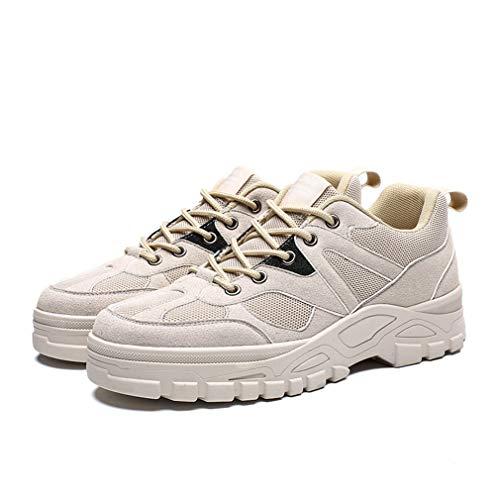 Respirantes 2019 De beige ons Chaussures Baskets Confort Homme Cyclisme Pour Nouveau 43 Étudiant Hy Running Slip Beige tw1P44q8