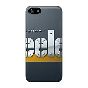 New Snap-on Luoxunmobile333 Skin Cases Covers Compatible With Iphone 4/4S Steelers by icecream design