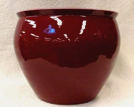 BlueWhiteVases Oxblood Red Porcelain Fish Bowl 18