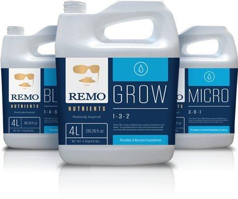Remo Nutrients Micro Grow Bloom 4 Liter