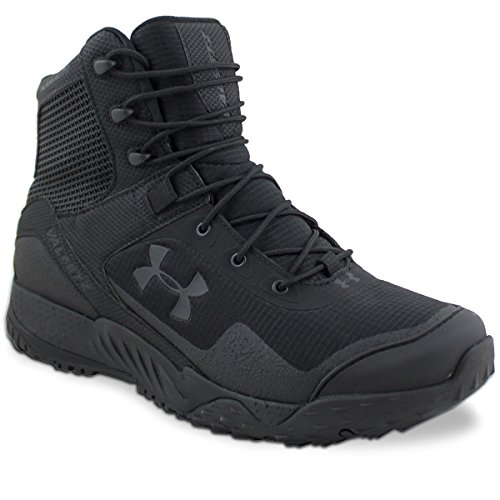 Under Armour Men's Valsetz RTS Military and Tactical Boot (001)/Black, 10 (Turn Around Right Now Every Now And Then)