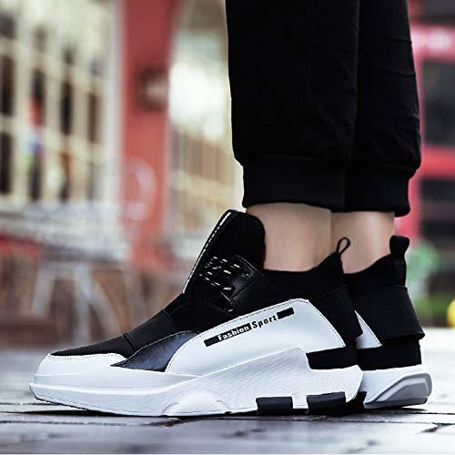 Segundo Un 44 Calientes Piel Algodón Zapatillas Otoño Viaje Zapatos Lovers De Invierno E Tamaño Antideslizantes color Sintética Deporte xqqTpRw